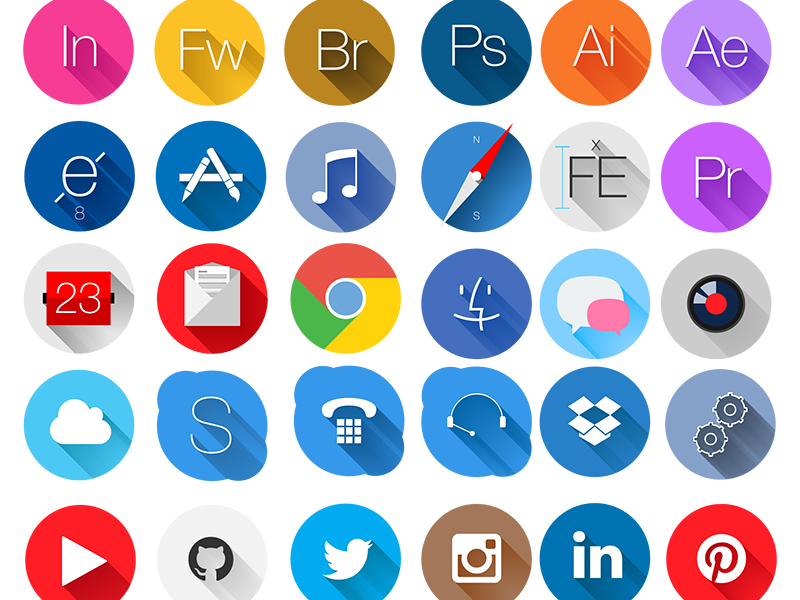 20-free-and-flat-icon-packs-for-web-designers11