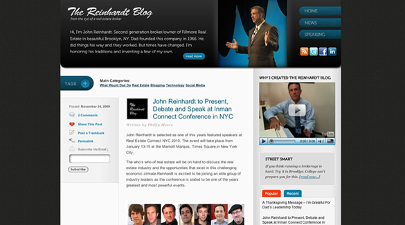 The Reinhardt Blog